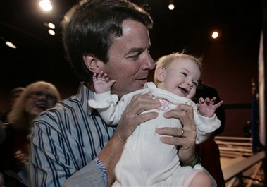 ... Reproductive Science, John Edwards Is Father of Rielle Hunters Baby