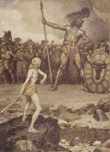 David und Goliath by Osmar Schindler (1888) / Wikimedia Commons / public domain